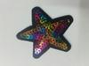 Аппликации звезды AK259-mix (микс) Цена за 4 шт