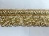 Тесьма металлизированная с бусинами SRI7014-41(золото) Цена за 4,5 метров