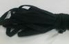 Резинка тубуляр(полая) REZTUB1-3 (черный) Цена за 10 метров