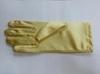 Перчатки атласные PCHAL23-10 (темно желтый) Цена за 1 пару