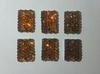 Стразы мармеладки пришивные MMP14/10-27 (коричневый)