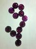 Стразы мармеладки пришивные MPK10-37 (темно розовый)