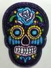 Аппликации череп AKL31-45 (темно фиолетовый)