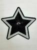 Аппликации звезды AK180-3 (черный)
