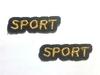 Аппликации спорт 8016-41 (золото)