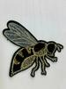 Аппликации пришивные пчела AK495-3 (черный)