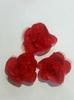 Цветы пришивные Ts7-3sm-4 (красный)