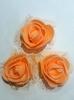 Цветы из фоамирана TSF1-31 (оранжевый)