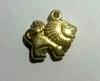 Подвески лев  PD24-41 (золото)
