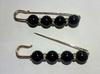 Булавки декоративные BYD2-41-3 (серебро)