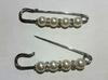 Булавки декоративные BYD1-42 (серебро)