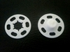 Кнопки пришивные KPPIF-1 (белый) разные размеры