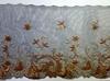 Кружево на сетке  51-4309-27 (золото)