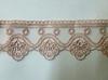 Кружево на сетке 70128-36 (грязно розовый)