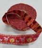 Тесьма детская TD01-4-10м (красный) Цена за 10 метров