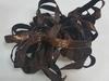 Бархатная лента голографическая BHLG14-29(коричневый)