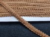 Тесьма шанель 4623457-28-10y (светло коричневый) Цена за 9 метров