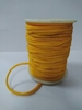 Шнур декоративный вязаный SHVK1-7-30m (желтый)