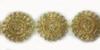 Кружево на органзе 9785-41 (золото) Цена за 10 ярд