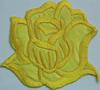 Аппликации цветок 2035-7 (желтый) Цена за 2шт.
