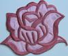 Аппликации цветок 2045-36 (розовый) Цена за 2шт.