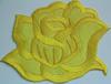 Аппликации цветок 2045-7 (желтый) Цена за 2шт.