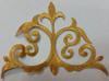 Аппликация вензель 3306-41 (золотой) Цена за 20шт.