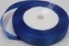 Лента атласная AL12-11 ( синий) Цена за 25ярд.