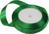 Лента атласная AL15-18 ( зеленый) Цена за 25ярд.