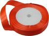 Лента атласная AL15-32 ( ярко оранжевый) Цена за 25ярд.