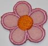Аппликации цветок AP04-34 (розовый) Цена за 10 шт.