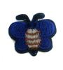 Аппликации бабочки AP043-11 (синий) Цена за 5 шт