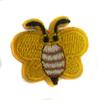 Аппликации бабочки AP043-7 (желтый) Цена за 5 шт