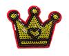 Аппликации корона AK124-4 (красный) Цена за 4 шт