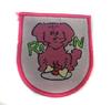 Аппликации собака AP201-37 (ярко розовый) Цена за 10 шт