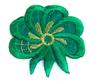 Аппликации цветок AP111-18 (зеленый) Цена за 10 шт