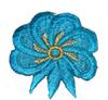 Аппликации цветок AP111-61 (темная бирюза) Цена за 10 шт