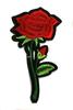 Аппликации цветы AK148-4 (красный) Цена за 4 шт