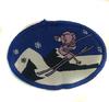Аппликации лыжник AP129-11 (синий) Цена за 10 шт
