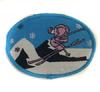 Аппликации лыжник AP129-16 (голубой) Цена за 10 шт