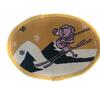 Аппликации лыжник AP129-28 (светло коричневый) Цена за 10 шт