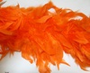 Боа из перьев курицы BOA150g-54 (рыжий) Цена за 1.8 метра