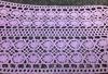Кружево лен 621-6003-166 (фиолетовый) Цена за 13,7 метров