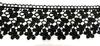 Кружево гипюр 5221-3 (черный) Цена за 9 метров