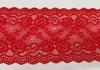 Кружево стрейч KST06-4 (красный) Цена за 1 метр