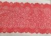 Кружево стрейч KS04-59 (коралл) Цена за 1 метр