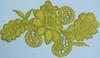 Аппликация цветок КЦ312-9 (желтый) Цена за 2шт.