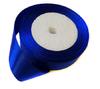 Лента атласная AL25-11 (синий) Цена за 22,8 метров