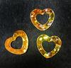 Пайетки сердце PSER-41 (золото) Цена за 10 гр