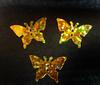 Пайетки бабочки PBCH-41 (золото) Цена за 10 гр